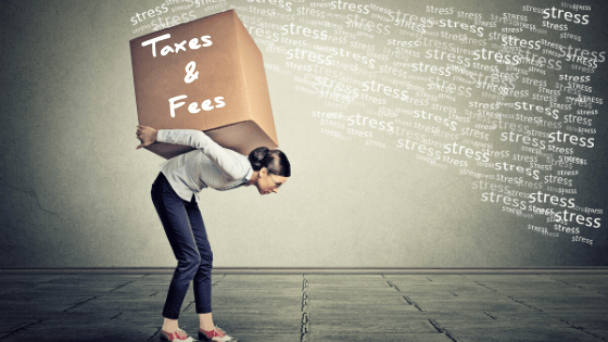 taxes and fees